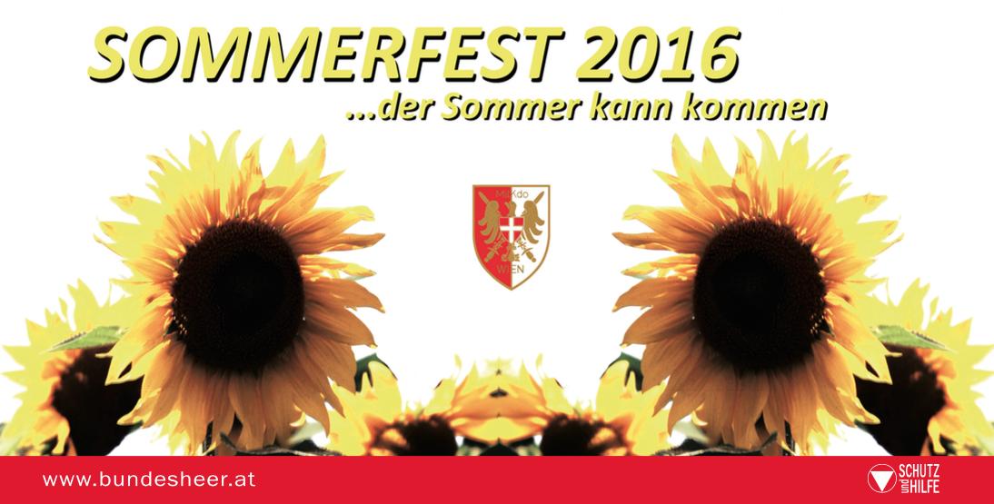Sommerfest des Militärkommandos Wien